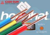 Dây Cadisun đơn cứng VCSH 1x4.0mm2