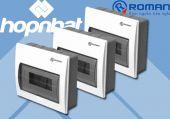 Tủ Aptomat nhựa 5P Roman RA5P