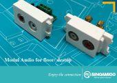 Modul audio cho ổ âm sàn và âm bàn